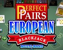 Multi Hand - Perfect Pairs European Blackjack Gold