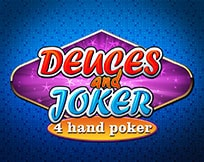 Deuces And Joker Poker 4 Hand